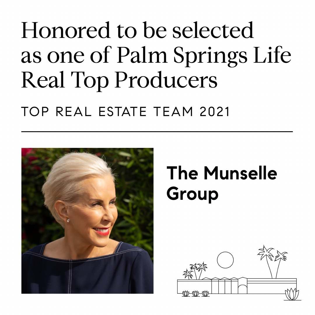 Selected as one of PalmSprings Life Real Top Producers